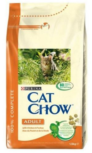 Purina Cat Chow Adult Chicken&Turkey 1,5kg