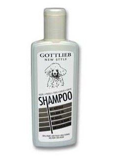 Gottlieb šampón s makadamovým olejem černý pudl 300ml