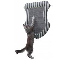 CAT PRINCE škrábací deska erb 54 x 47 cm šedá