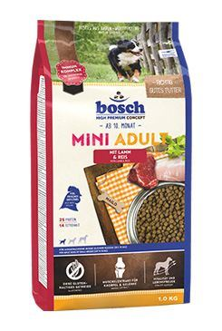 Bosch Dog Adult Mini Lamb&Rice 1kg
