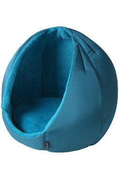Pelech domek Kukaň KING modrá