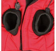 Červená vesta PALERMO s odepínací kapucí TRIXIE