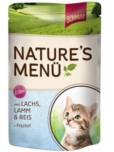 Schmusy Cat Nature Menu kapsa Junior