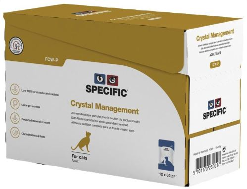 Specific FCW-P Crystal Management 12 x 85g kapsičky
