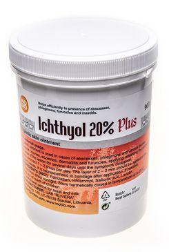 Ichthyol 20% Plus mast 900g