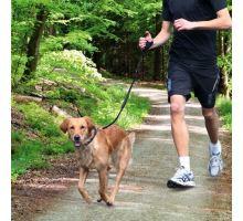 Vodítko na běhání se psem 0,90-1,30 m/20 mm černé