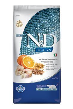 N&D OCEAN CAT LG Adult Codfish & Orange