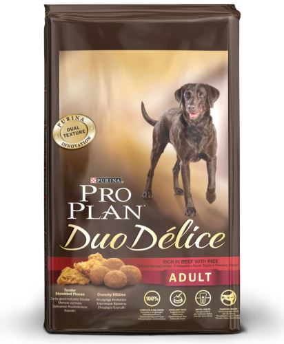 Purina Pro Plan Dog Adult Duo Délice Beef