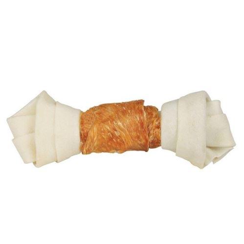 DENTAfun-uzel svázaný kuřecím masem 1ks