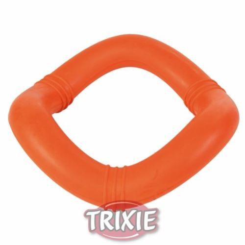 Plovoucí vlnitý kruh, tvrdá guma 15cm TRIXIE