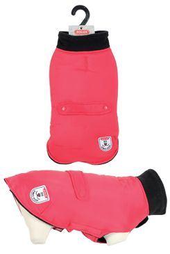 Obleček voděodolný pro psy RIVER červená