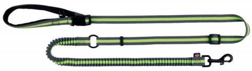 Jogging vodítko 1,33-1,80 m/20 mm šedo/zelené