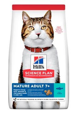 Hill's Fel. Dry Mature Adult 7+ Tuna 10kg
