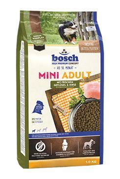 Bosch Dog Adult Mini Drůbeží&Proso 3kg