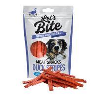 Brit Let's Bite Meat Snacks Duck Stripes 80g