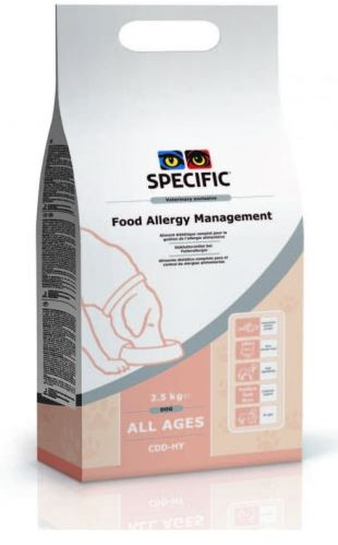 Specific CDD-HY Food Allergy Management