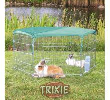 Síť k ohrádce pro králíky zelená/oko 1x1cm