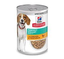 Hill's Can. konz. SP Per.Weight Adult Chicken&Veg 370g