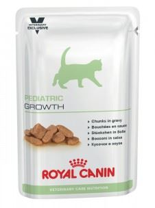 Royal Canin VED Cat Pediatric Growth Pouch 12x100g