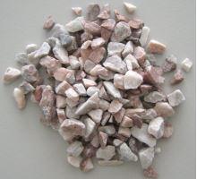 Akvarijní štěrk růžový - sáček 2 l