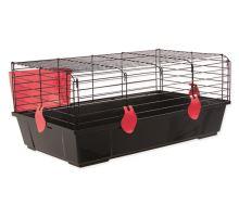 Klec SMALL ANIMAL Michal černá s červenou výbavou 1ks