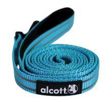 Alcott reflexní vodítko pro psy modré, velikost L