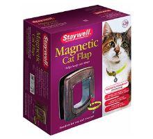 Dvířka plast Hnědá 4P STAYWELL 420 magnetická