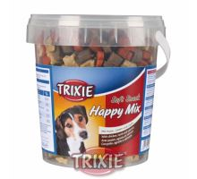 Soft Snack Happy MIX - kuře, jehněčí, losos, kyblík 500g