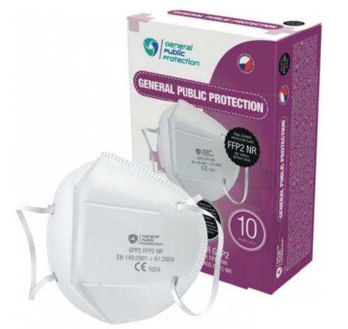General Public Protection respirátor FFP2 100 ks