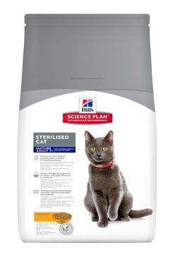 Hill's Feline Dry Adult Mature7+ Sterilized Kuře 1,5kg