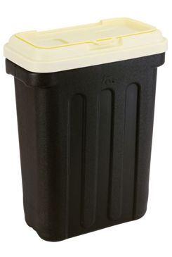 MAELSON Box na granule černá/slonová kost 7,5kg