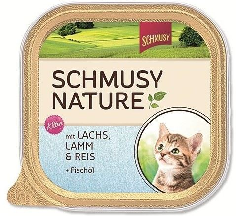 Schmusy Cat Nature Menu vanička Junior