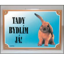 Tabulka králík 1ks