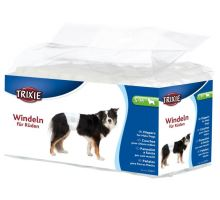 Papírové pleny pro psy S-M 30-46 cm [12 ks/bal.]