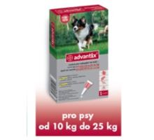 Advantix pro psy spot-on 10-25kg 1x2,5 ml