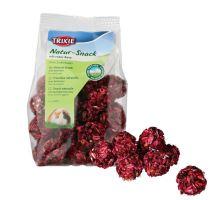 Natur Snack - kuličky s červenou řepou pro hlodavce 140 g