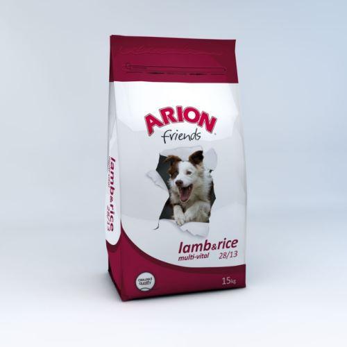 Arion Dog friends Lamb Rice multi vital 15kg