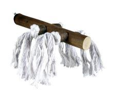 Dřevěné bidýlko s bavlnou velké 25cm/25mm