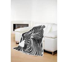 Deka TEXSTAR mikrovlákno 280g 150 x 200 cm  - zebra