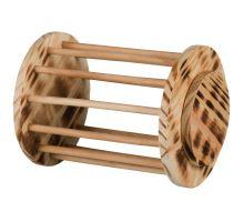 Dřevěný válec na seno 15x19cm
