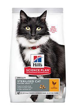 Hill's Feline Dry Mat Adult7+Sterilised Cat Chicken