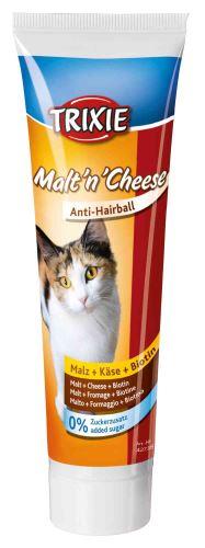 Malt'n'Cheese anti-hairball, se sladem,sýrem a biotinem 100g