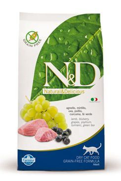 N&D Grain Free CAT Adult Lamb & Blueberry
