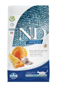 N&D OCEAN CAT GF Adult Herring, Pumpkin & Orange
