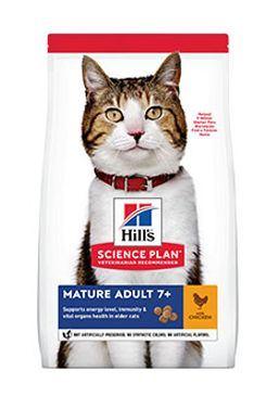 Hill's Feline Dry Mature Adult 7+ Chicken