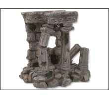 Dekorace akvarijní Antické sloupy 14,3 x 12 x 14,4 cm 1ks