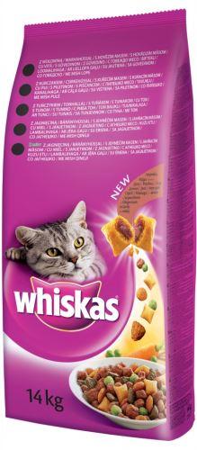 Whiskas Dry s hovězím masem