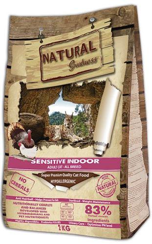 Natural Greatness Sensitive Indoor Cat Recipe