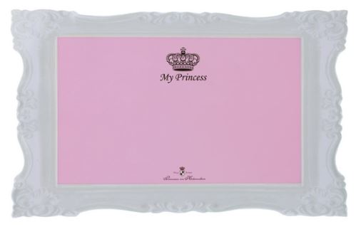 Prostírání MY PRINCESS - gumová podložka růžová 44x28cm