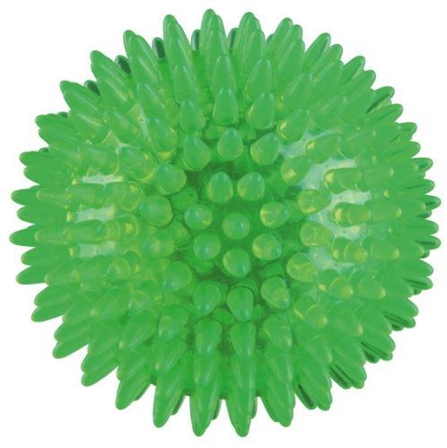 Ježatý míček,  pevný plast (TPR) 8 cm